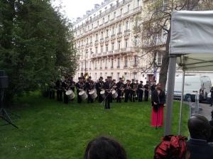 Esclavage 10 mai 2013 Place Catroux - Fanfare et Leila Bredant
