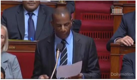 Nestor Azérot, député de la Martinique