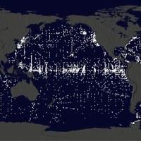 """Une animation de la Nasa montre comment de vastes """"îles d'ordures"""" envahissent nos océans depuis 35 ans"""