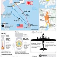 Hiroshima : 70 ans après la bombe, peu d'Américains regrettent...