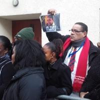 Clarissa Jean-Philippe : Inauguration par François Hollande de la plaque commémorative
