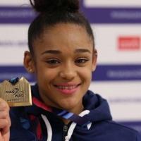 La Martiniquaise Mélanie De Jesus Dos Santos championne d'Europe de gymnastique